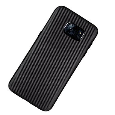 Etui Käyttötarkoitus Samsung Galaxy S7 edge S7 Ultraohut Takakuori Yhtenäinen väri Pehmeä TPU varten S7 edge S7 S6 edge