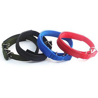 Pies Obroże Smycze Korygujący / Wysuwany Jendolity kolor Gray Czerwony Green Niebieski