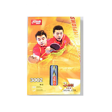 4 Tähteä Ping Pang/Table Tennismailat Ping Pang Puuta Pitkä kahva Näppylöitä
