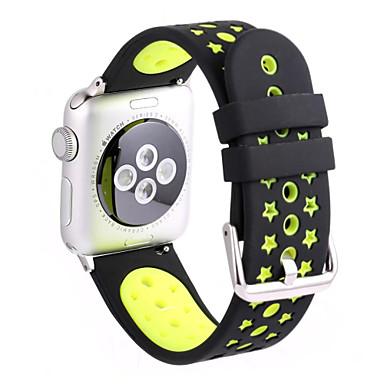 Watch Band na Apple Watch Series 3 / 2 / 1 Apple Opaska na nadgarstek Pasek sportowy Silikon
