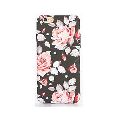 Etui Käyttötarkoitus Apple iPhone 7 Plus iPhone 7 Hehkuu pimeässä Kuvio Koristeltu Takakuori Kukka Pehmeä TPU varten iPhone 7 Plus iPhone