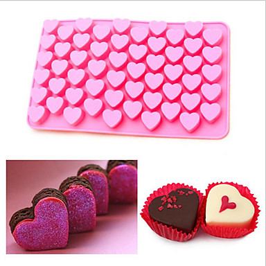 ψήσιμο Mold Καρδιά για Candy Σοκολατί Κέικ Σιλικόνη Φιλικό προς το περιβάλλον Φτιάξτο Μόνος Σου 3D Γιορτή Αντικολλητικό