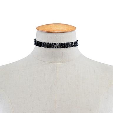 Pentru femei Șuviță unică Personalizat Acrilic Modă Euramerican Coliere Choker Bijuterii Teracotă Coliere Choker . Petrecere Ocazie
