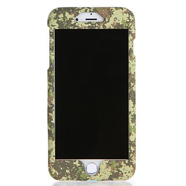 Für Apfel iphone 7 7plus Fallabdeckungsmuster voller Körperkasten Tarnungsfarbe harter PC 6s plus 6 plus 6s 6