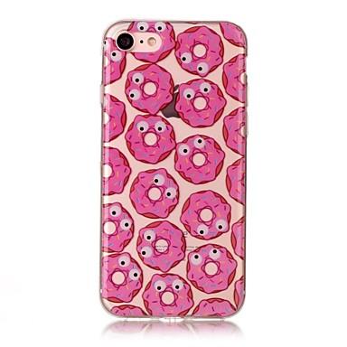 Etui Käyttötarkoitus Apple IMD Läpinäkyvä Kuvio Takakuori Ruoka Pehmeä TPU varten iPhone 7 Plus iPhone 7 iPhone 6s Plus iPhone 6 Plus
