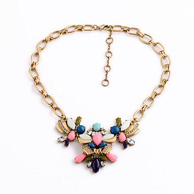 Pentru femei Coliere cu Pandativ Flower Shape La modă Personalizat Curcubeu Bijuterii Pentru Petrecere Cadouri de Crăciun 1 buc