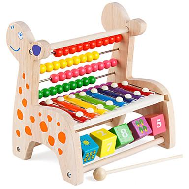 Educatief speelgoed Speeltjes Vierkant Hout Stuks Unisex Geschenk
