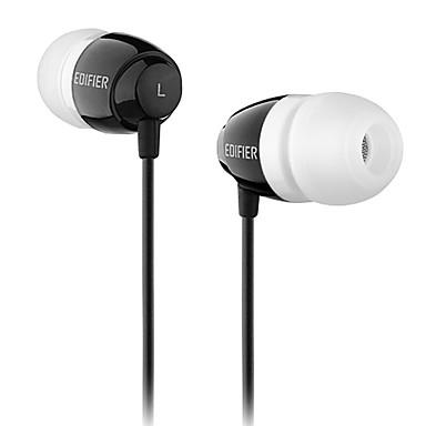 Edifier h210 mobiele oortelefoon voor computer in-ear bekleed plastic 3,5mm ruisonderdrukking