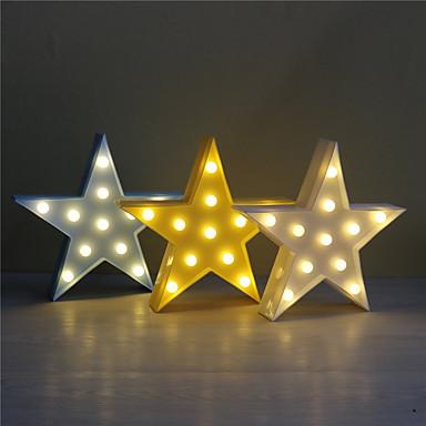 1pc 3d Nacht Licht Kunststoff LED Lampe Kinderzimmer Schlafzimmer Nachttisch Lampe Party Hochzeit Hausdekorationen
