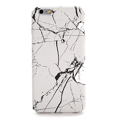 Etui Käyttötarkoitus Apple iPhone 7 Plus iPhone 7 Kuvio Takakuori Marble Kova PC varten iPhone 7 Plus iPhone 7 iPhone 6s Plus iPhone 6s