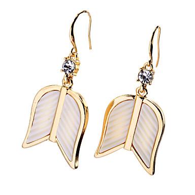 Cercei Rotunzi Cristal Design Unic Personalizat Euramerican Auriu Bijuterii Pentru Nuntă Petrecere Zi de Naștere 1 pereche