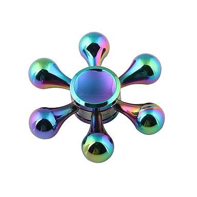 Fidget spinners Hand Spinner Speeltjes Zes Spinner Metaal Klassiek Stuks Geschenk