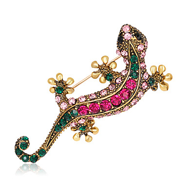 Women's Brooches - Rhinestone Animal Fashion, Euramerican Brooch Assorted Color For Wedding / Party / Special Occasion / Daily