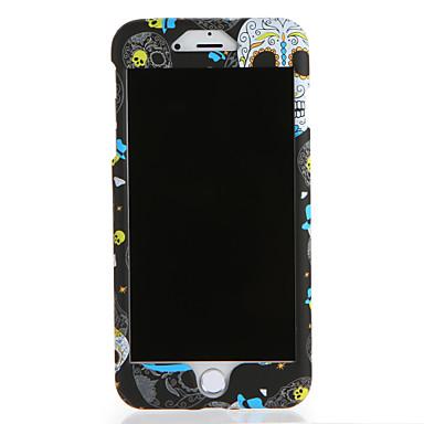 Hülle Für Apple iPhone 7 Plus iPhone 7 Muster Ganzkörper-Gehäuse Totenkopf Motiv Hart PC für iPhone 7 Plus iPhone 7 iPhone 6s Plus iPhone