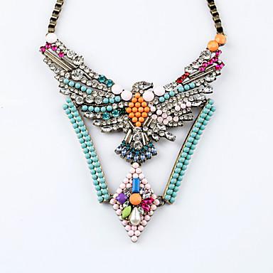 Damskie Pasemka Naszyjniki Geometric Shape Unikalny euroamerykańskiej Biżuteria Na Impreza Prezenty bożonarodzeniowe
