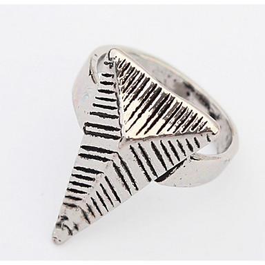Dames Ring Bandring Sieraden Gepersonaliseerde Uniek ontwerp Logostijl Klassiek Vintage Bohémien Standaard Brits USA Afrika Opvallende