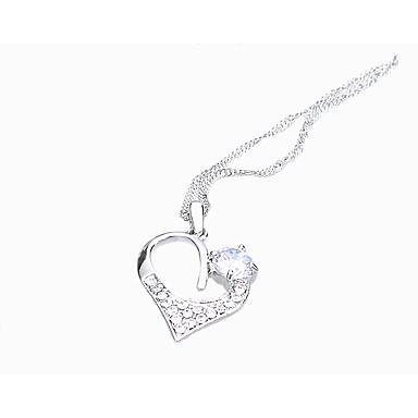 Γυναικεία Κρεμαστά Κολιέ Κρυστάλλινο Μοναδικό Love Καρδιά Μοντέρνα Εξατομικευόμενο Euramerican Λευκό Κοσμήματα Για Γάμου Πάρτι 1pc