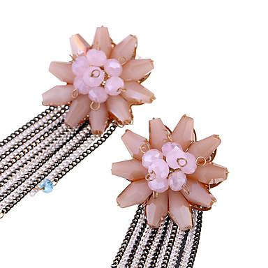 Damskie Kolczyki Ustaw Kryształ Modny Osobiste euroamerykańskiej minimalistyczny styl Kwiaty Stop Biżuteria Na Ślub Impreza Urodziny