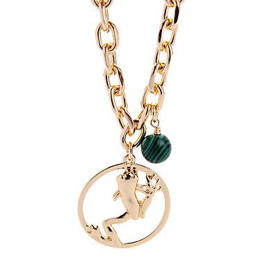 للمرأة أساور السلسلة والوصلة الصداقة موضة نمط بوهيميا سبيكة Circle Shape مجوهرات إلى 1PC