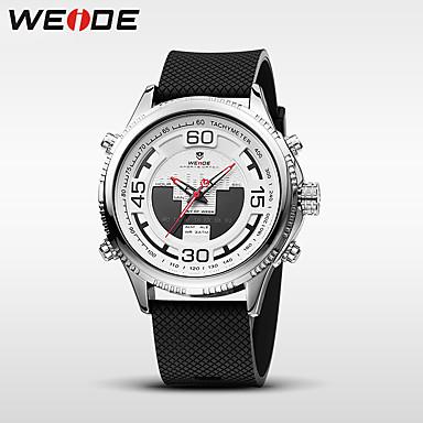 WEIDE Herrn Quartz digital Digitaluhr Armbanduhr Militäruhr Sportuhr Japanisch Alarm Kalender Wasserdicht Nachts leuchtend Stopuhr Duale