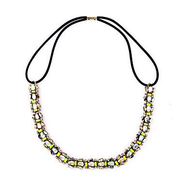 Kadın's Tellerinin Kolye Kristal Moda Kişiselleştirilmiş Euramerican minimalist tarzı Açık Yeşil Mücevher Için Düğün Parti 1pc