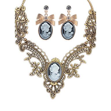 Heren Dames Anderen Vorm Gepersonaliseerde Bloemen Religieuze sieraden Uniek ontwerp Hangende stijl Klassiek Vintage Tekojalokivi