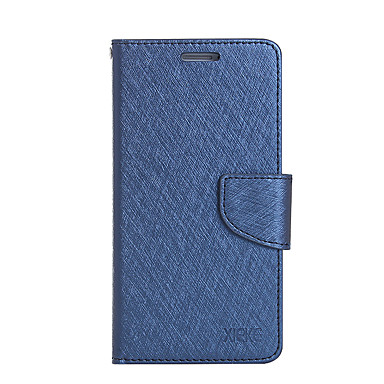 غطاء من أجل Samsung Galaxy حامل البطاقات محفظة مع حامل قلب غطاء كامل للجسم لون الصلبة قاسي جلد PU إلى On7(2016) On5(2016) Grand Prime