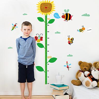 Tiere Botanisch Mode Wand-Sticker Flugzeug-Wand Sticker Dekorative Wand Sticker Sticker zum Maßnehmen,Papier Stoff Haus Dekoration