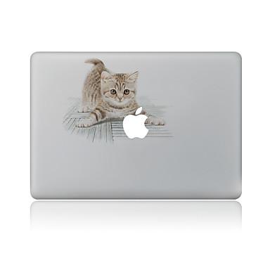 1 τμχ Προστασία από Γρατζουνιές Γάτα Πλαστικές διάφανες Αυτοκόλλητο Μοτίβο ΓιαMacBook Pro 15'' with Retina MacBook Pro 15 '' MacBook Pro