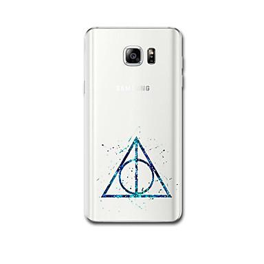 Für Samsung-Anmerkung 5 Anmerkung 4 Fallabdeckung ultra dünnes Muster rückseitige Abdeckungsfall geometrisches Muster weiches tpu für