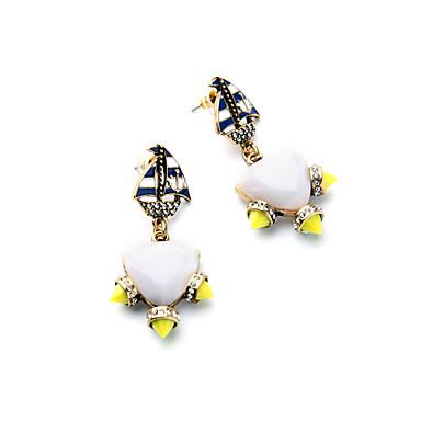 Damskie Kolczyki koła Kryształ Osobiste euroamerykańskiej minimalistyczny styl Biżuteria Na Ślub Impreza Urodziny