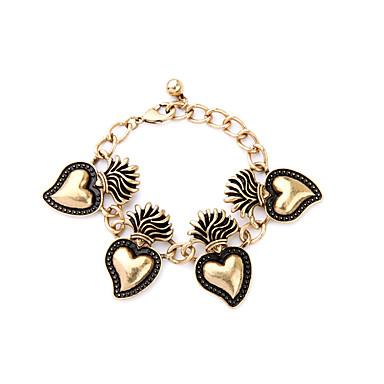 Γυναικεία Βραχιόλια με Φυλαχτά Φιλία Μοντέρνα Κράμα Heart Shape Κοσμήματα Για 1pc
