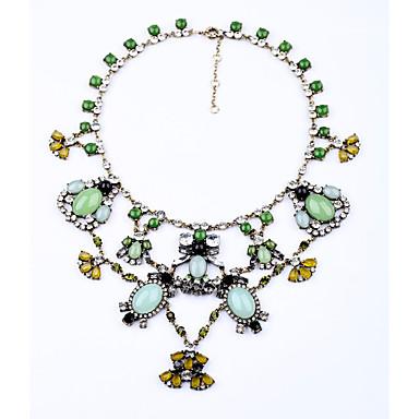 Damskie Pasemka Naszyjniki Geometric Shape Przyjaźń Słodkie Style Light Blue Biżuteria Na 1szt