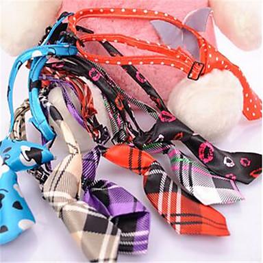 كلب ربطة عنق ملابس الكلاب كاجوال/يومي زهور قوس قزح كوستيوم للحيوانات الأليفة
