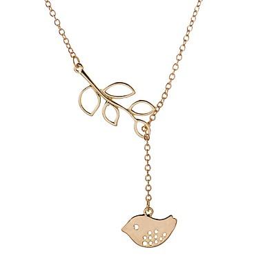 Kadın's Uçlu Kolyeler Mücevher Moda Çok güzel Kişiselleştirilmiş Euramerican Altın Gümüş Mücevher Için Düğün Parti 1pc