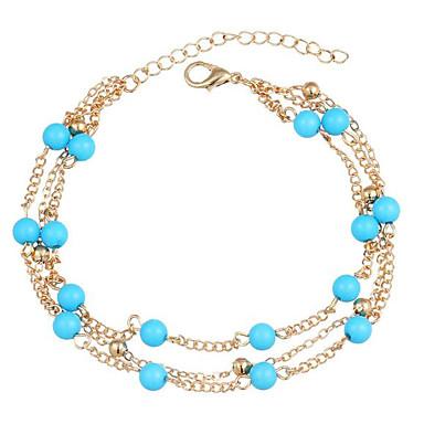 للمرأة مجوهرات الجسم Fotlenke سلسلة قديم سبيكة مجوهرات من أجل فضفاض
