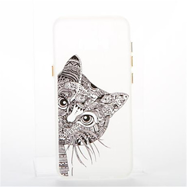 Maska Pentru Samsung Galaxy S8 Plus S8 Placare Stralucire in intuneric Carcasă Spate Pisica Moale TPU pentru S8 S8 Plus