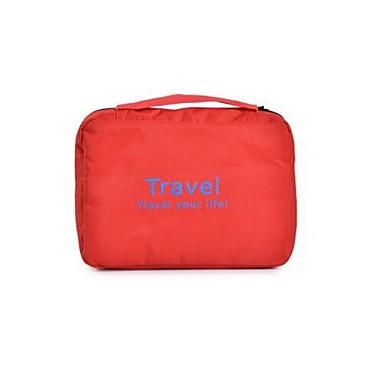 Geantă Cosmetice Organizator Bagaj de Călătorie Impermeabil Portabil Depozitare Călătorie pentru Haine Nailon / Bărbați Pentru femei
