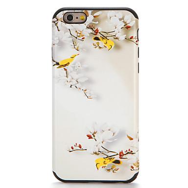 hoesje Voor iPhone 7 iPhone 7 Plus iPhone 6s Plus iPhone 6 Plus iPhone 6s iPhone 6 Apple Patroon Achterkant Bloem Zacht TPU voor iPhone 7