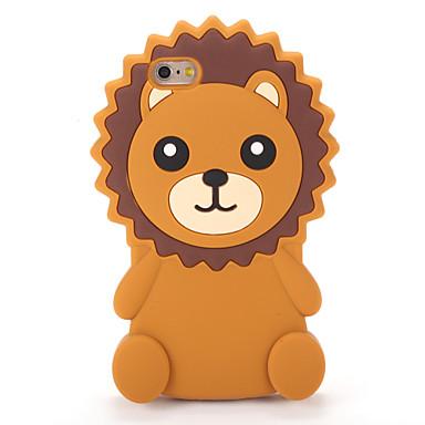 Pouzdro Uyumluluk Apple iPhone 7 Plus iPhone 7 Temalı Arka Kapak 3D Karikatür Yumuşak Silikon için iPhone 7 Plus iPhone 7 iPhone 6s Plus