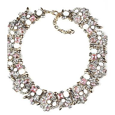 billige Mode Halskæde-Dame Strands halskæde Damer Mode Euro-Amerikansk Lilla Lys pink Lyseblå Halskæder Smykker Til Fest Gave