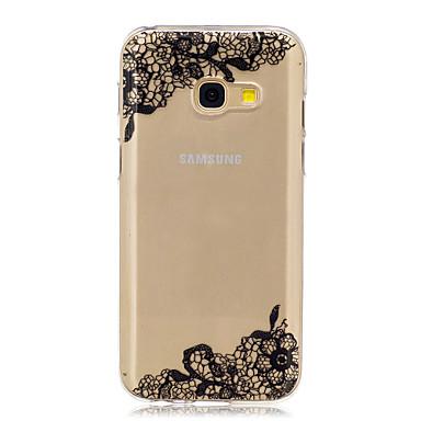 Kılıf Na Samsung Galaxy A5(2017) A3(2017) IMD Przezroczyste Wzór Etui na tył Koronka Printing Miękkie TPU na A3 (2017) A5 (2017) A5(2016)