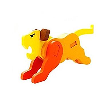 3D - Puzzle Steckpuzzles Holzmodelle Tiger Spaß Holz Klassisch