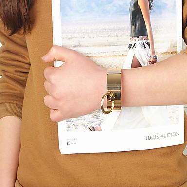Damskie Bransoletki cuff Biżuteria List Stop Geometric Shape Biżuteria Specjalne okazje Biżuteria kostiumowa