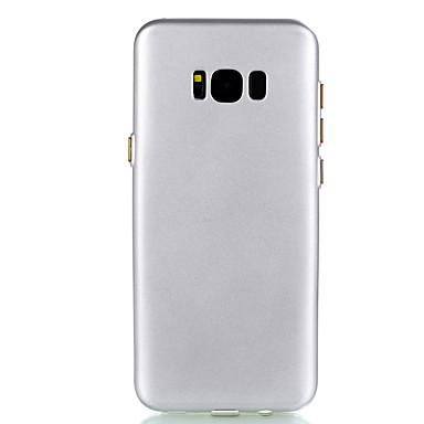 Hülle Für Samsung Galaxy S8 Plus S8 Beschichtung Ultra dünn Rückseitenabdeckung Volltonfarbe Weich TPU für S8 S8 Plus S7 edge S7