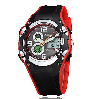 Ανδρικά Ψηφιακό ρολόι Μοναδικό Creative ρολόι Ρολόι Φορέματος Μοδάτο Ρολόι Αθλητικό Ρολόι Κινέζικα Χαλαζίας Ψηφιακό καουτσούκ Μπάντα