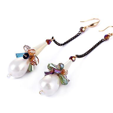 Σκουλαρίκια Σετ Κρυστάλλινο μινιμαλιστικό στυλ Μοντέρνα Εξατομικευόμενο Euramerican Κράμα Λευκό Κοσμήματα Για Γάμου Πάρτι Γενέθλια1