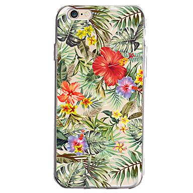 Pentru Apple iPhone 7 7 plus 6s 6 plus caz acoperă model de flori pictat de înaltă penetrare tpu material caz caz caz moale