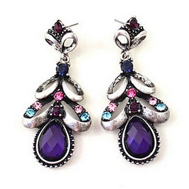 للمرأة أقراط قطرة موضة حجر الراين سبيكة مجوهرات خطوبة يوميا بيكيني