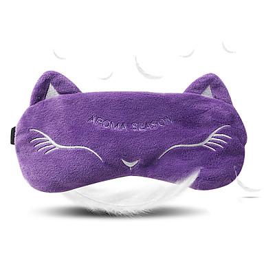 1pc Reisslaapmasker draagbaar Reissteun Ademend Anti-statisch voor draagbaar Reissteun Ademend Anti-statisch Stof-Paars